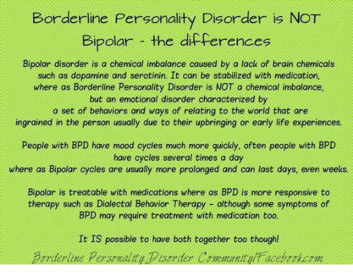 Memes To Help Explain Bpd Or Bipolar Disorder Living With Bpd
